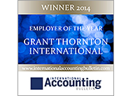 IAB Employer of the year 2014 - Grant Thornton